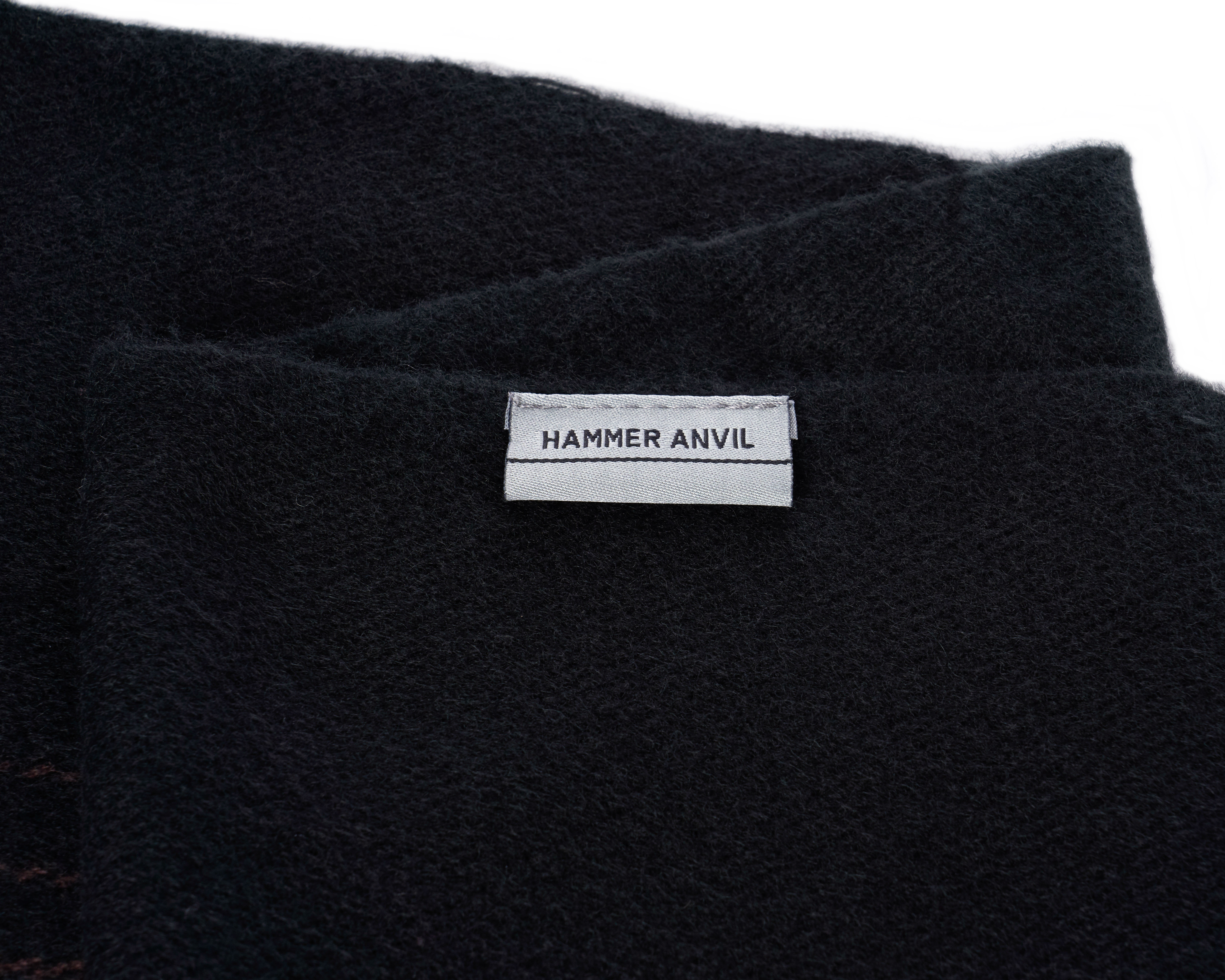 Hammer-Anvil-Mens-Plaid-Striped-Scarf-Womens-Winter-Scarves-Cashmere-Soft-Feel thumbnail 16