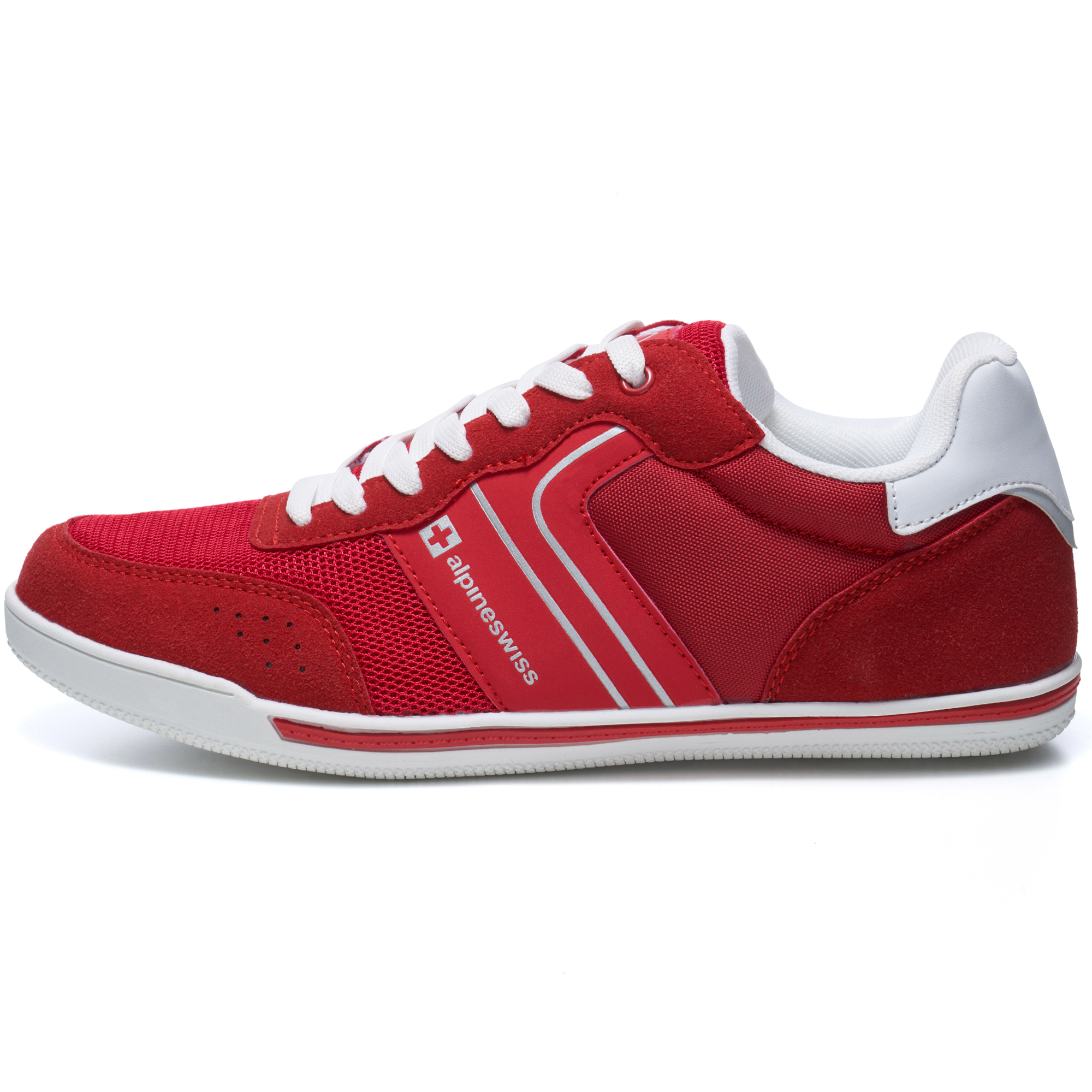 Alpine-Swiss-Liam-Mens-Fashion-Sneakers-Suede-Trim-Low-Top-Lace-Up-Tennis-Shoes thumbnail 50