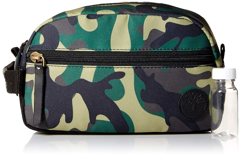 532fd02fc6 Timberland Canvas Shave Kit Organizer Travel Dopp Kit Overnight Toiletry Bag