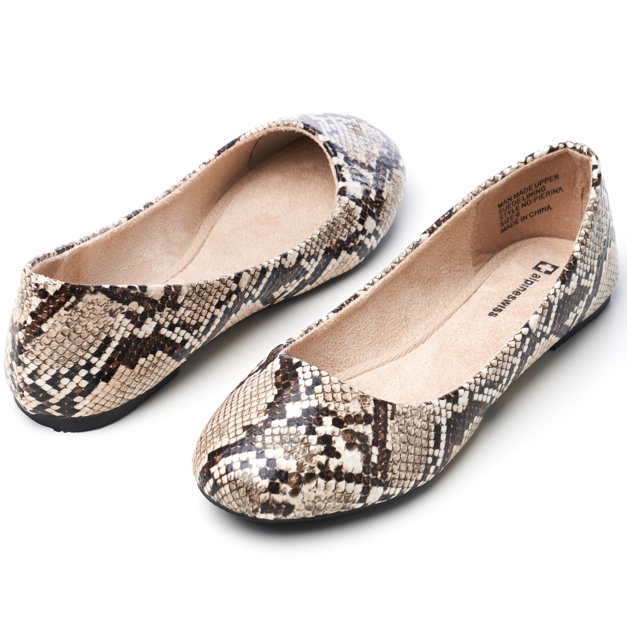 Alpine-Swiss-Pierina-Womens-Ballet-Flats-Leather-Lined-Classic-Slip-On-Shoes thumbnail 22