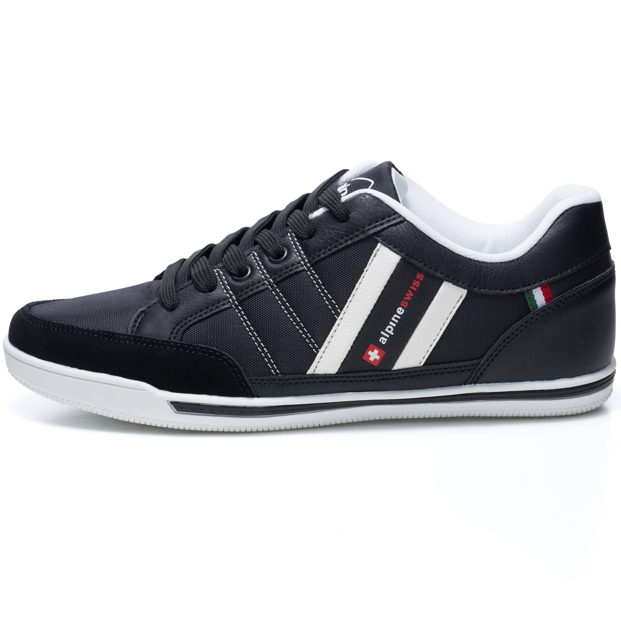 Alpine-Swiss-Stefan-Mens-Retro-Fashion-Sneakers-Tennis-Shoes-Casual-Athletic-New thumbnail 14