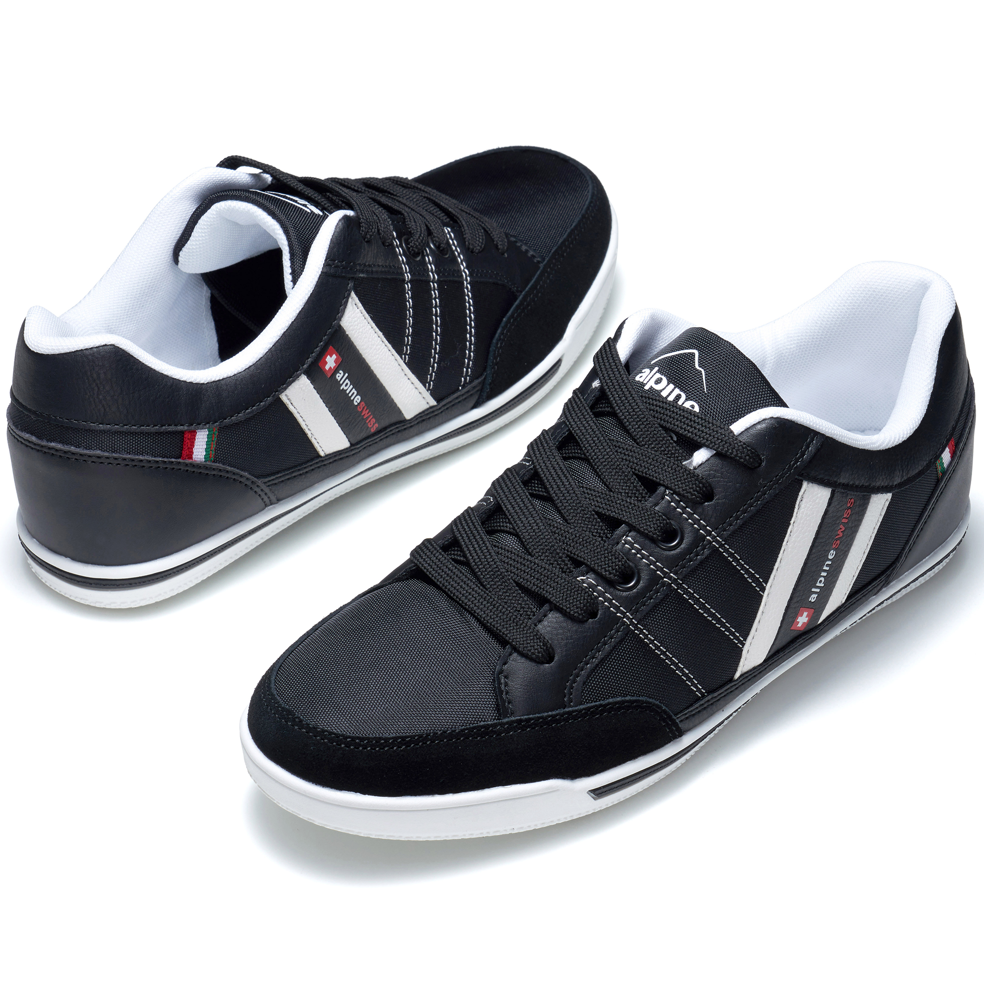 Alpine-Swiss-Stefan-Mens-Retro-Fashion-Sneakers-Tennis-Shoes-Casual-Athletic-New thumbnail 15