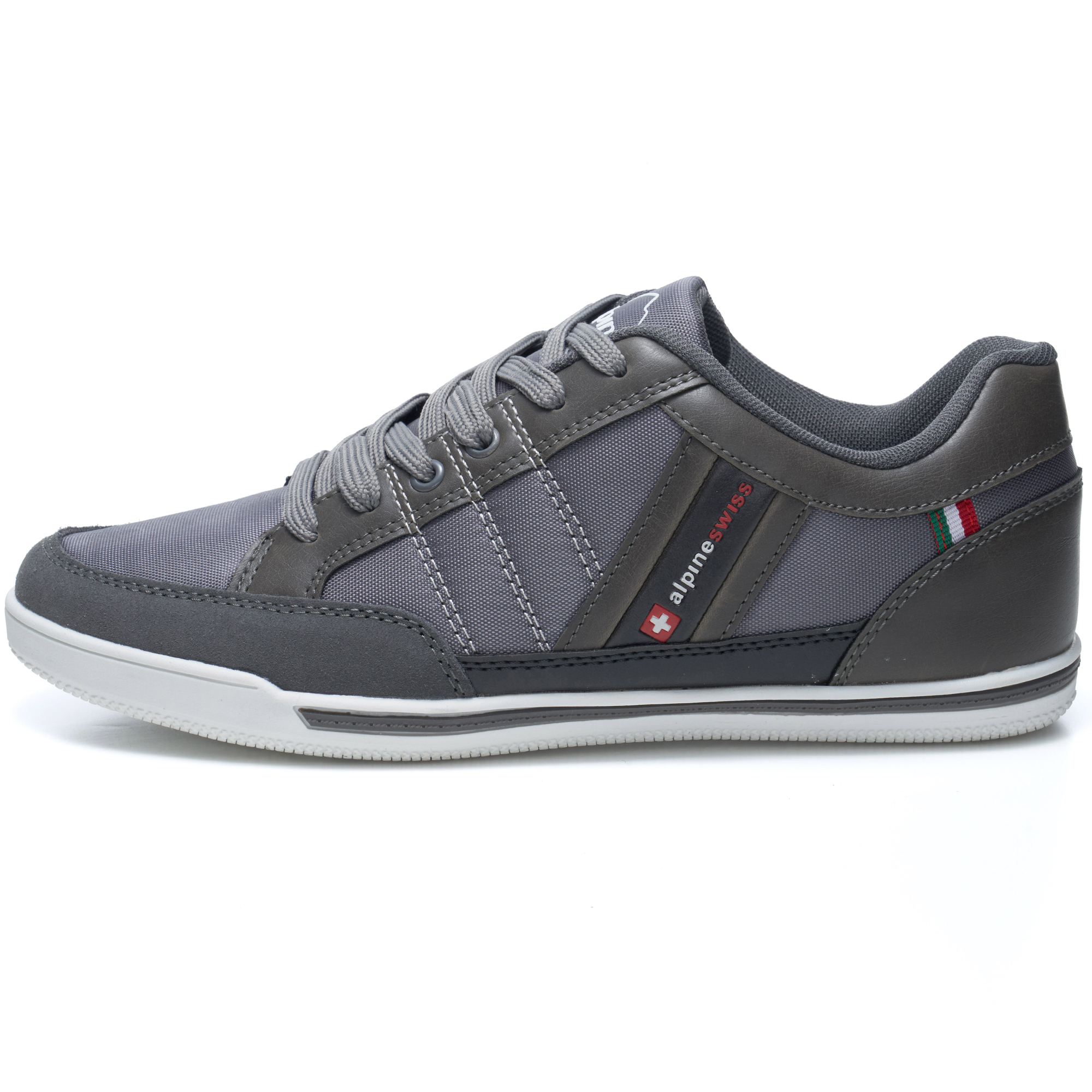Alpine-Swiss-Stefan-Mens-Retro-Fashion-Sneakers-Tennis-Shoes-Casual-Athletic-New thumbnail 21