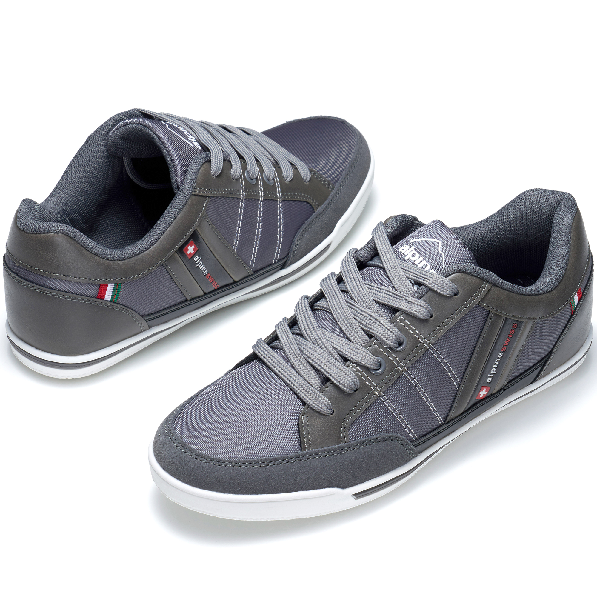 Alpine-Swiss-Stefan-Mens-Retro-Fashion-Sneakers-Tennis-Shoes-Casual-Athletic-New thumbnail 22