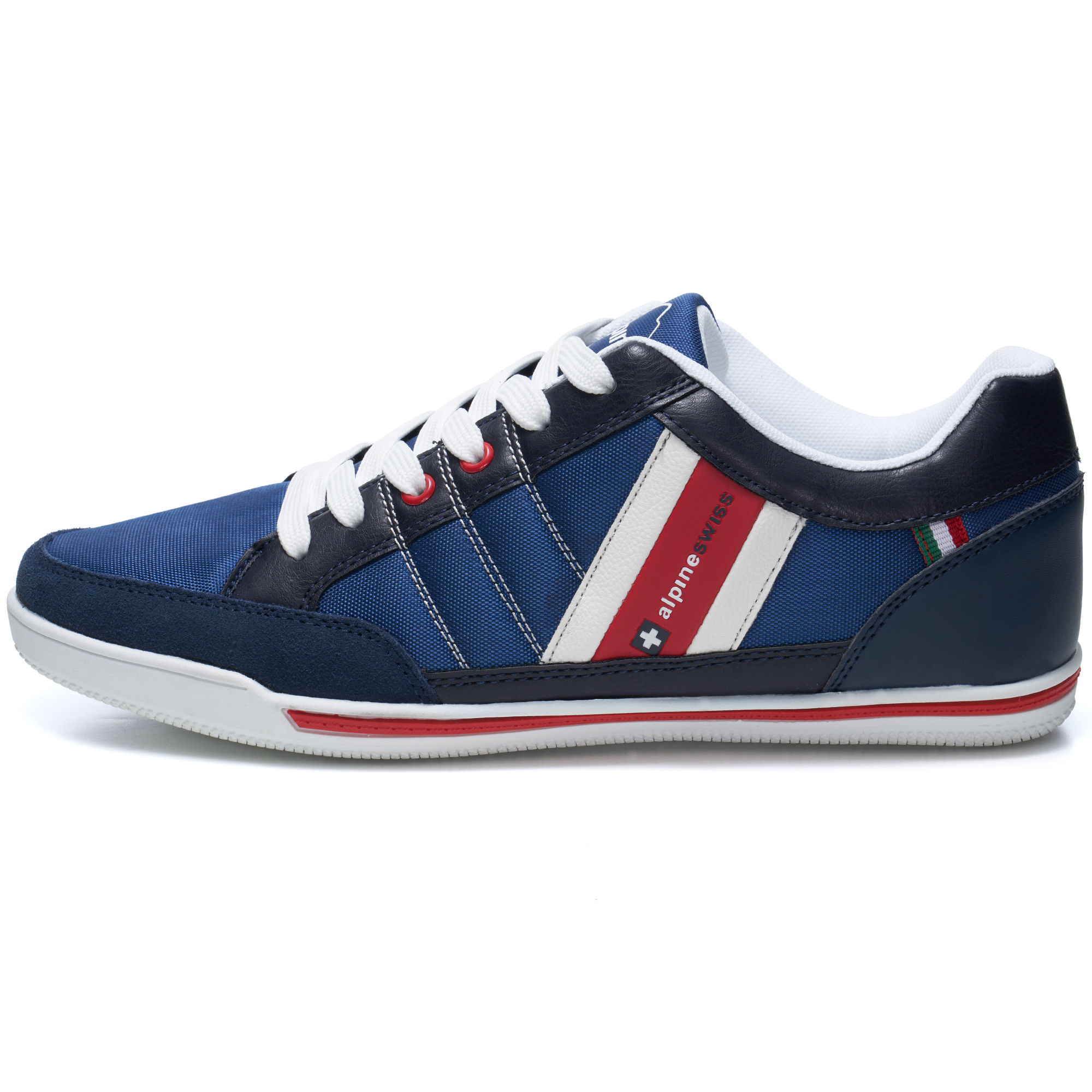 Alpine-Swiss-Stefan-Mens-Retro-Fashion-Sneakers-Tennis-Shoes-Casual-Athletic-New thumbnail 28