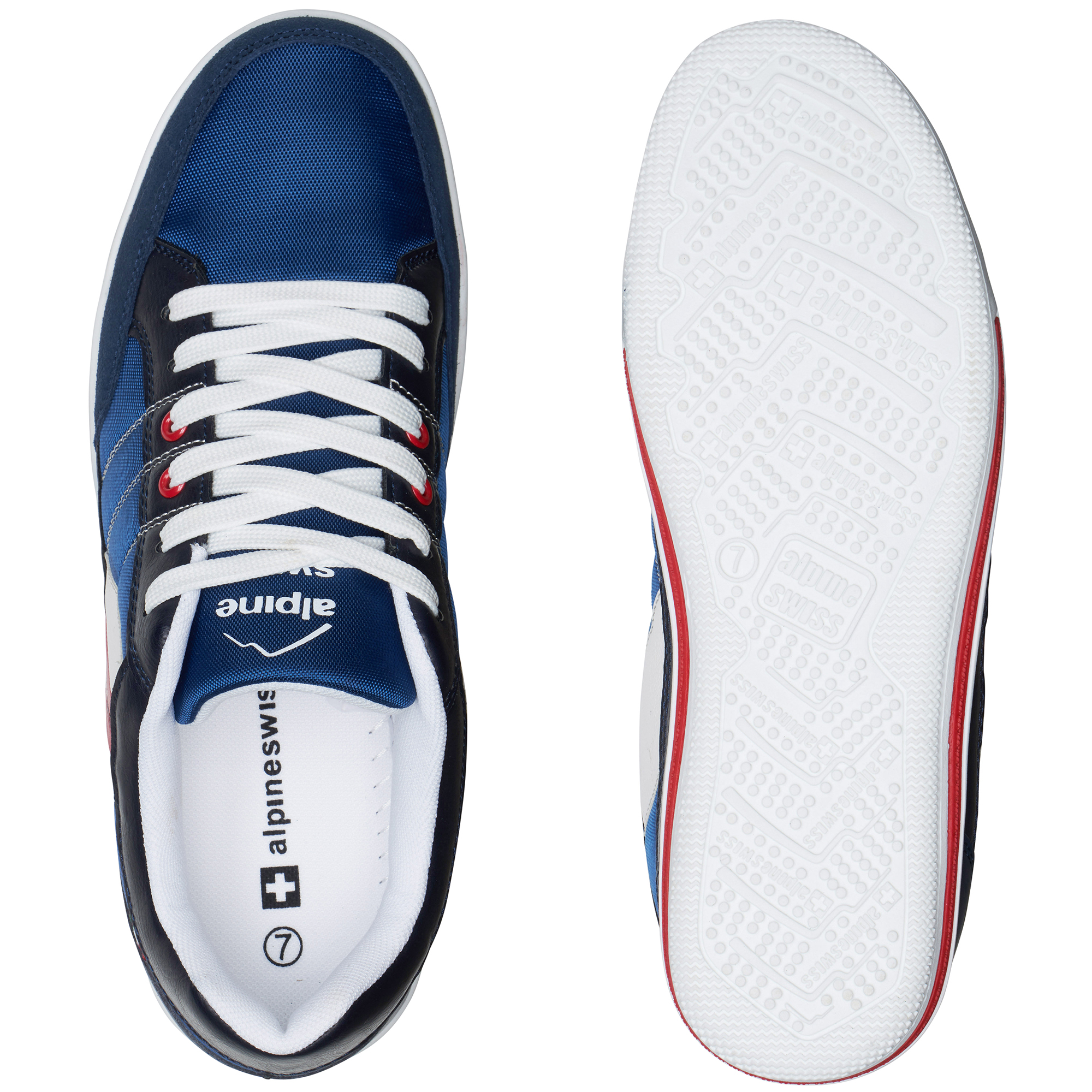 Alpine-Swiss-Stefan-Mens-Retro-Fashion-Sneakers-Tennis-Shoes-Casual-Athletic-New thumbnail 31