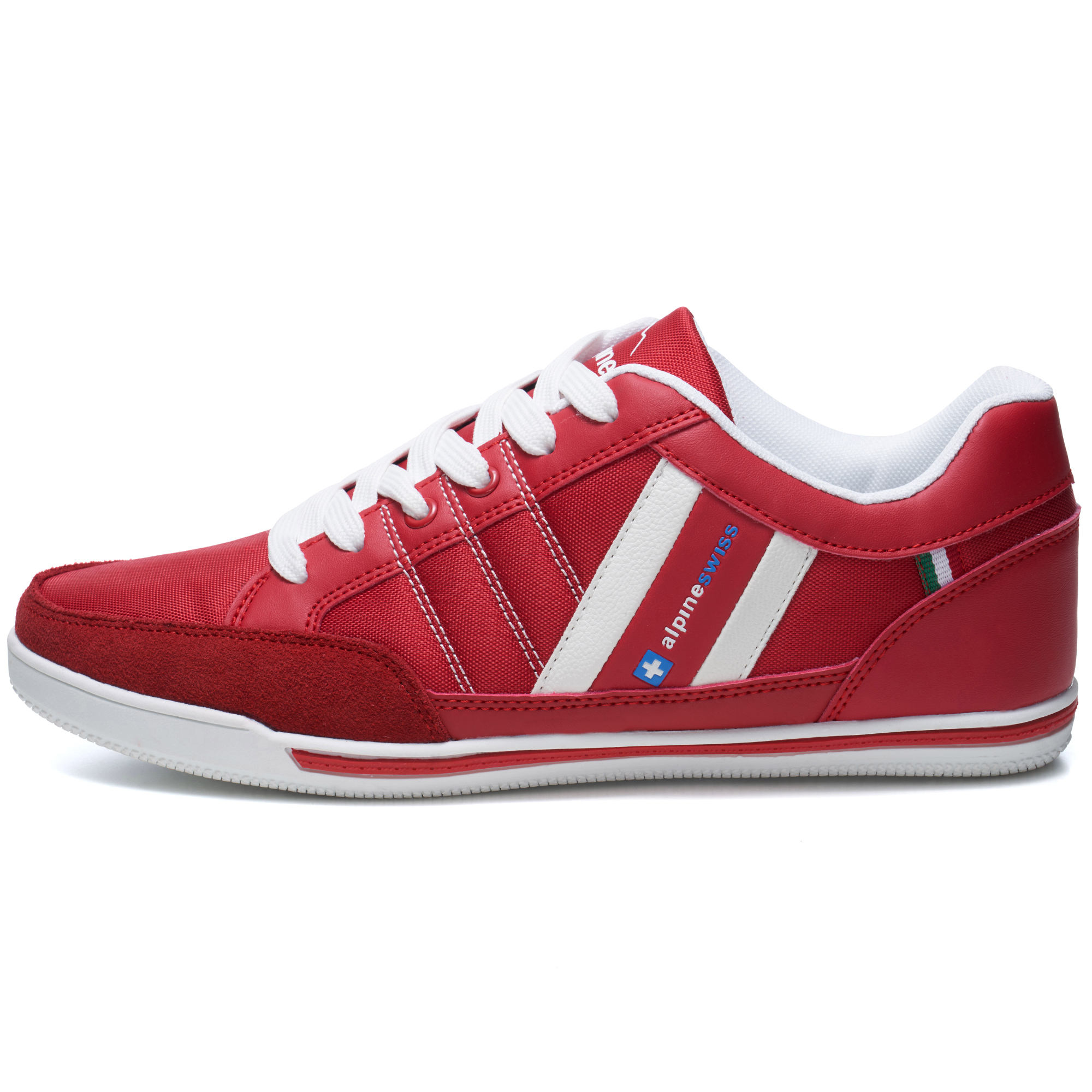 Alpine-Swiss-Stefan-Mens-Retro-Fashion-Sneakers-Tennis-Shoes-Casual-Athletic-New thumbnail 35