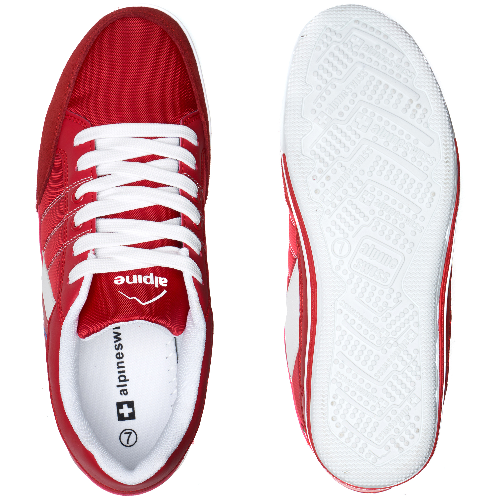 Alpine-Swiss-Stefan-Mens-Retro-Fashion-Sneakers-Tennis-Shoes-Casual-Athletic-New thumbnail 38