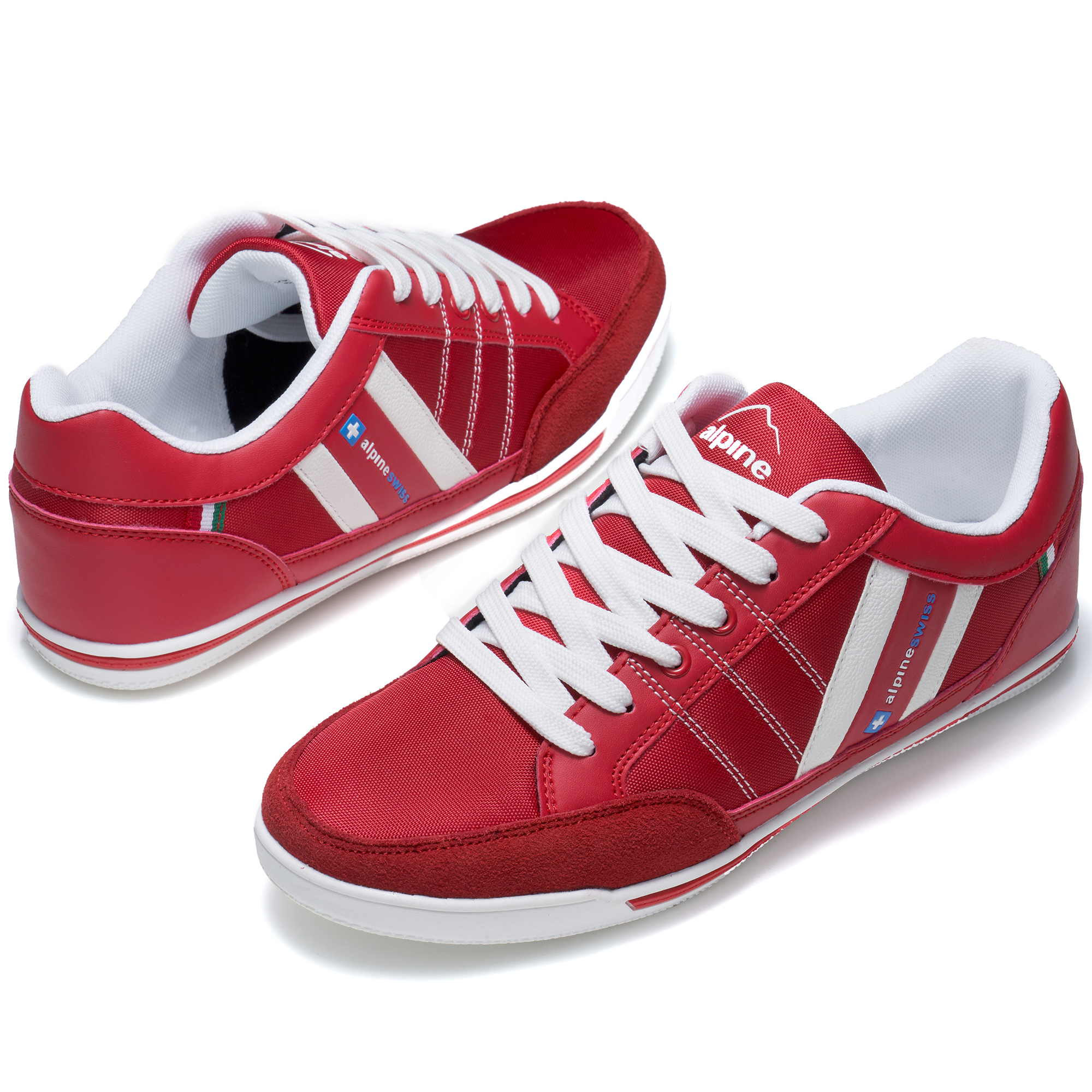 Alpine-Swiss-Stefan-Mens-Retro-Fashion-Sneakers-Tennis-Shoes-Casual-Athletic-New thumbnail 36