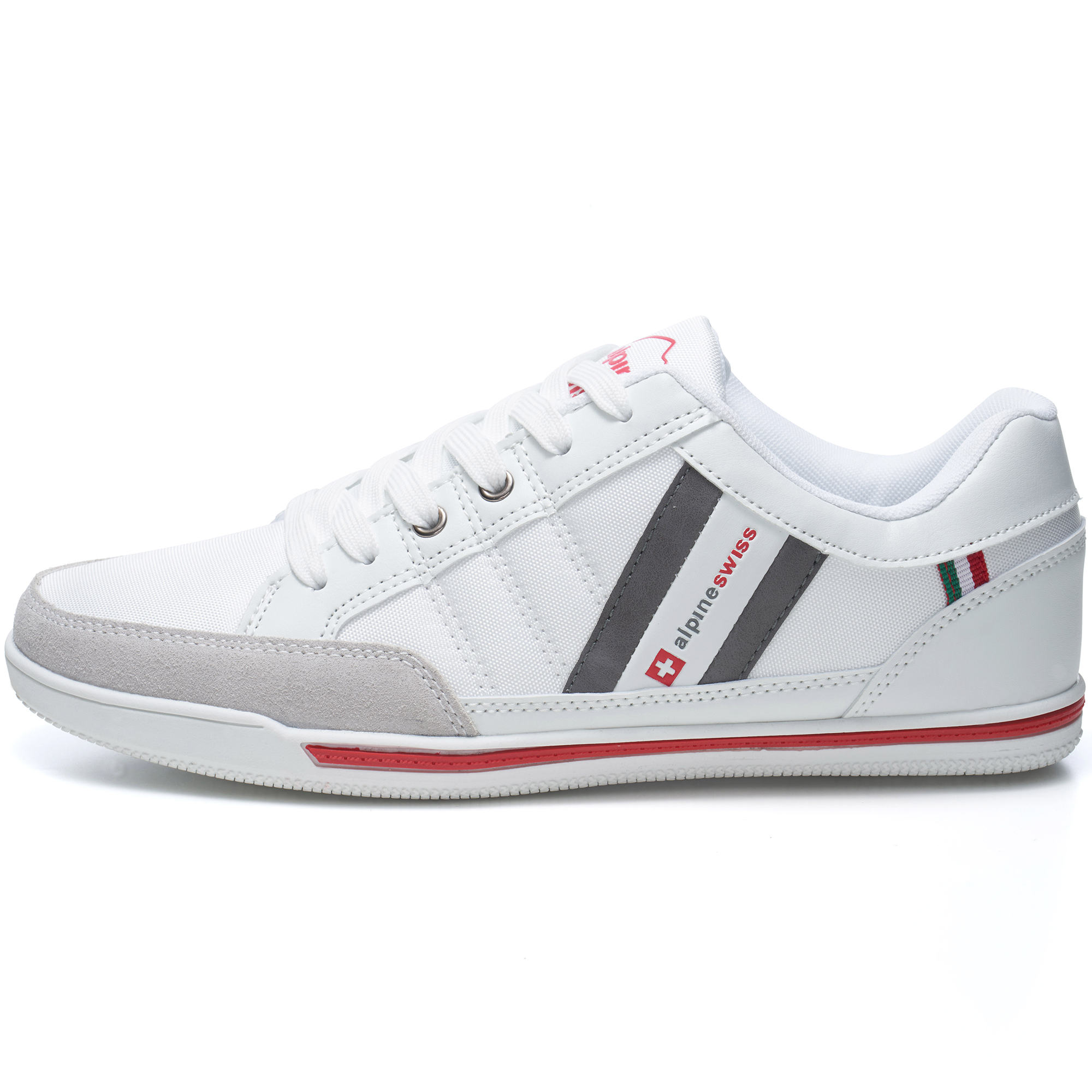 Alpine-Swiss-Stefan-Mens-Retro-Fashion-Sneakers-Tennis-Shoes-Casual-Athletic-New thumbnail 41