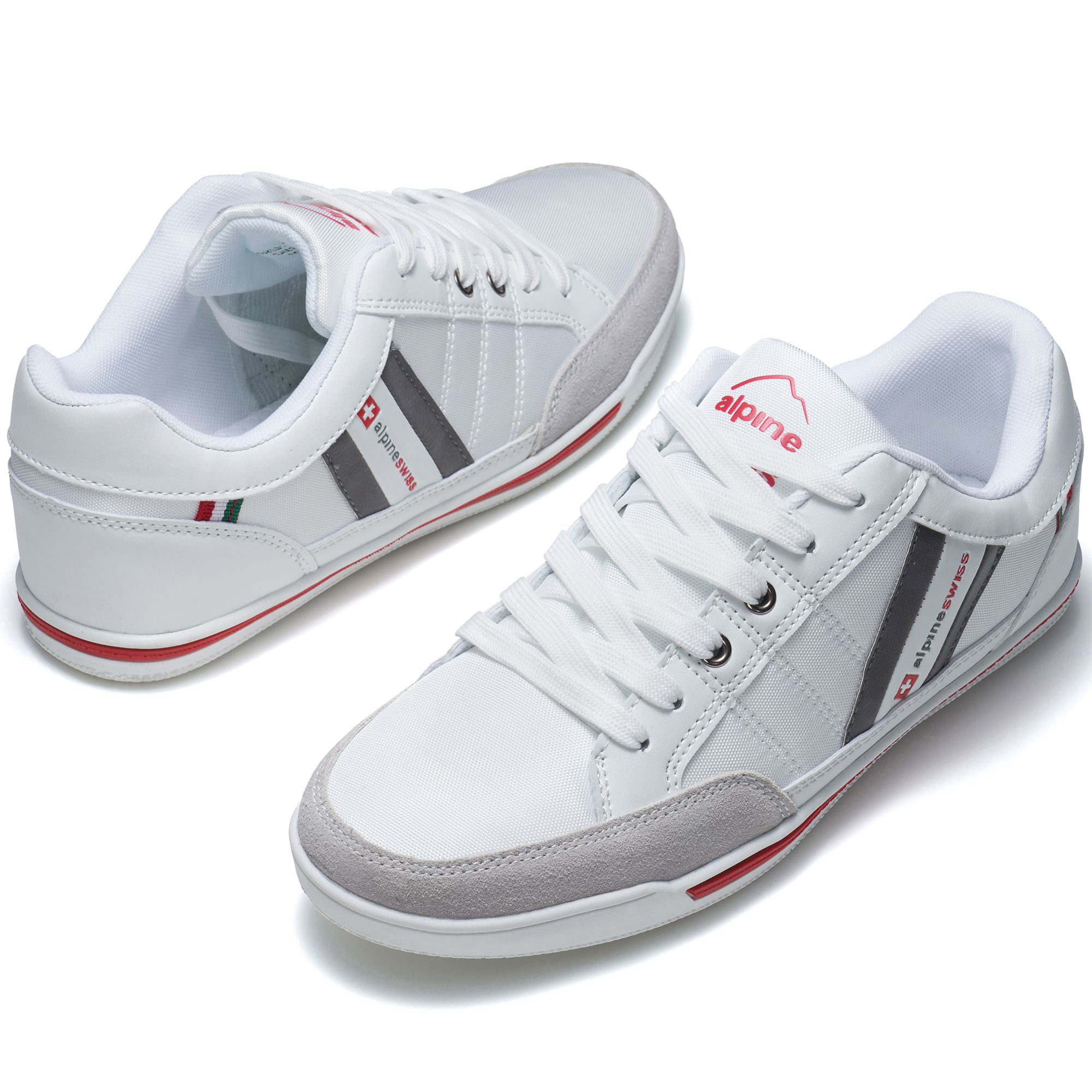 Alpine-Swiss-Stefan-Mens-Retro-Fashion-Sneakers-Tennis-Shoes-Casual-Athletic-New thumbnail 42