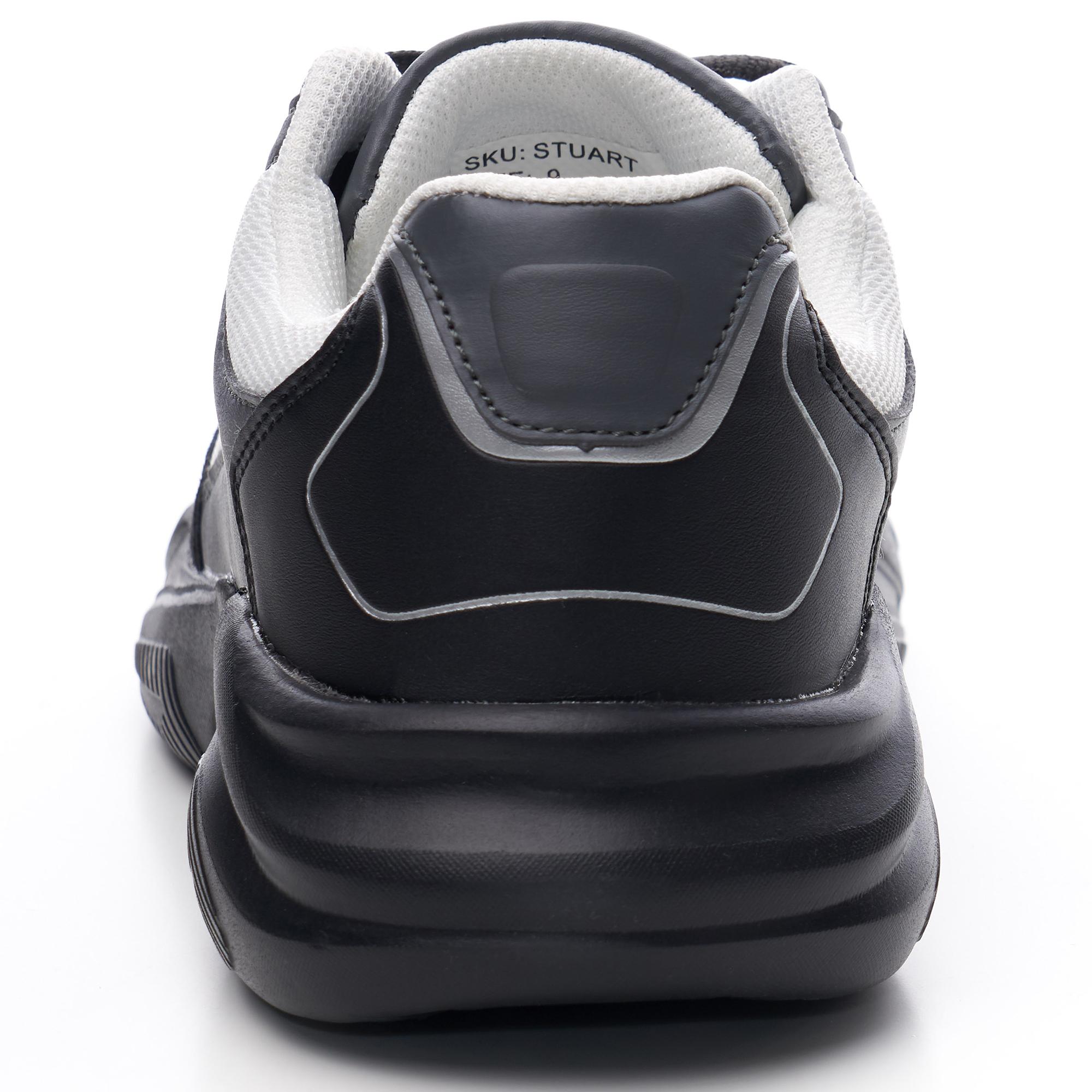 Alpine-Swiss-Stuart-Mens-Chunky-Sneakers-Retro-Platform-Dad-Tennis-Shoes thumbnail 23