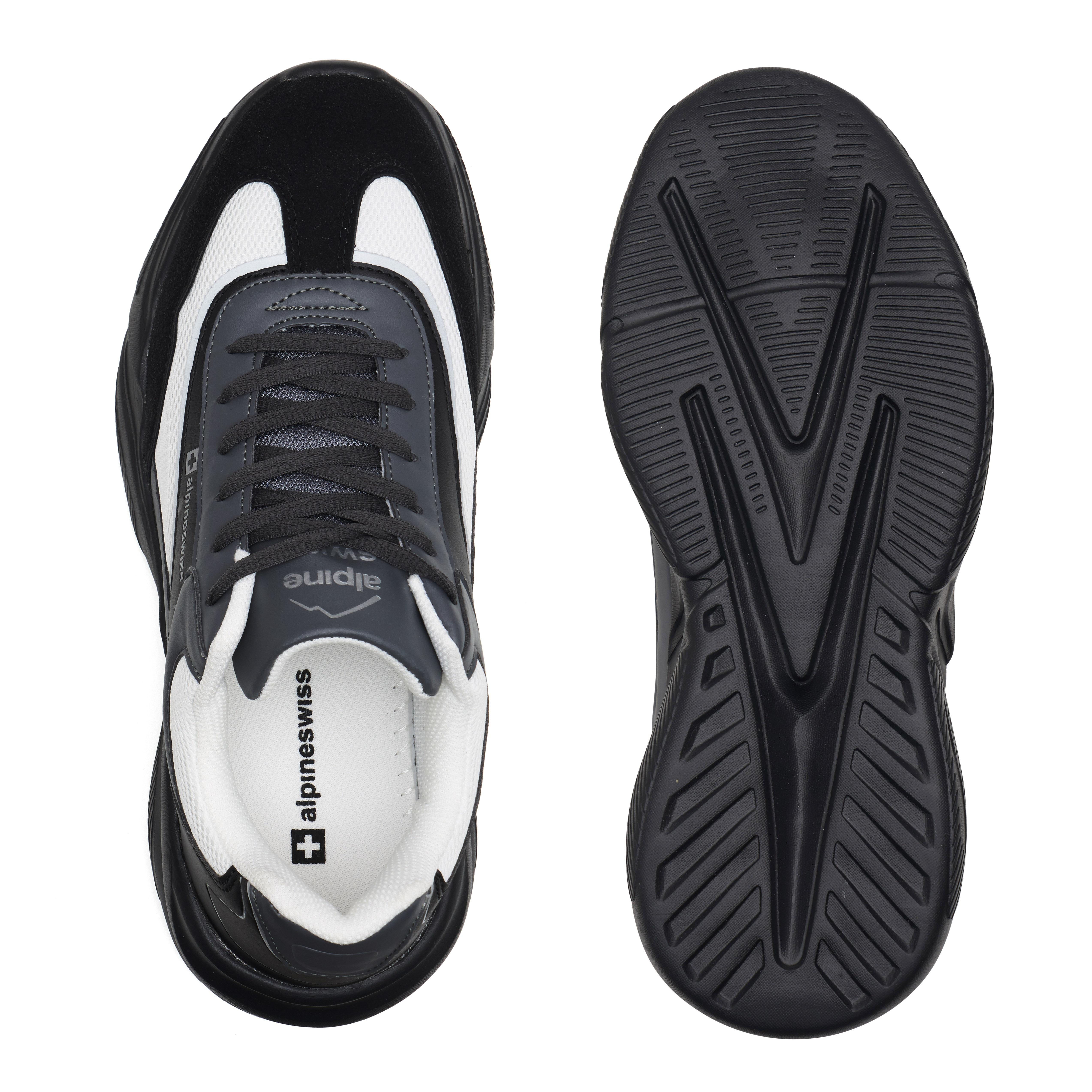 Alpine-Swiss-Stuart-Mens-Chunky-Sneakers-Retro-Platform-Dad-Tennis-Shoes thumbnail 22