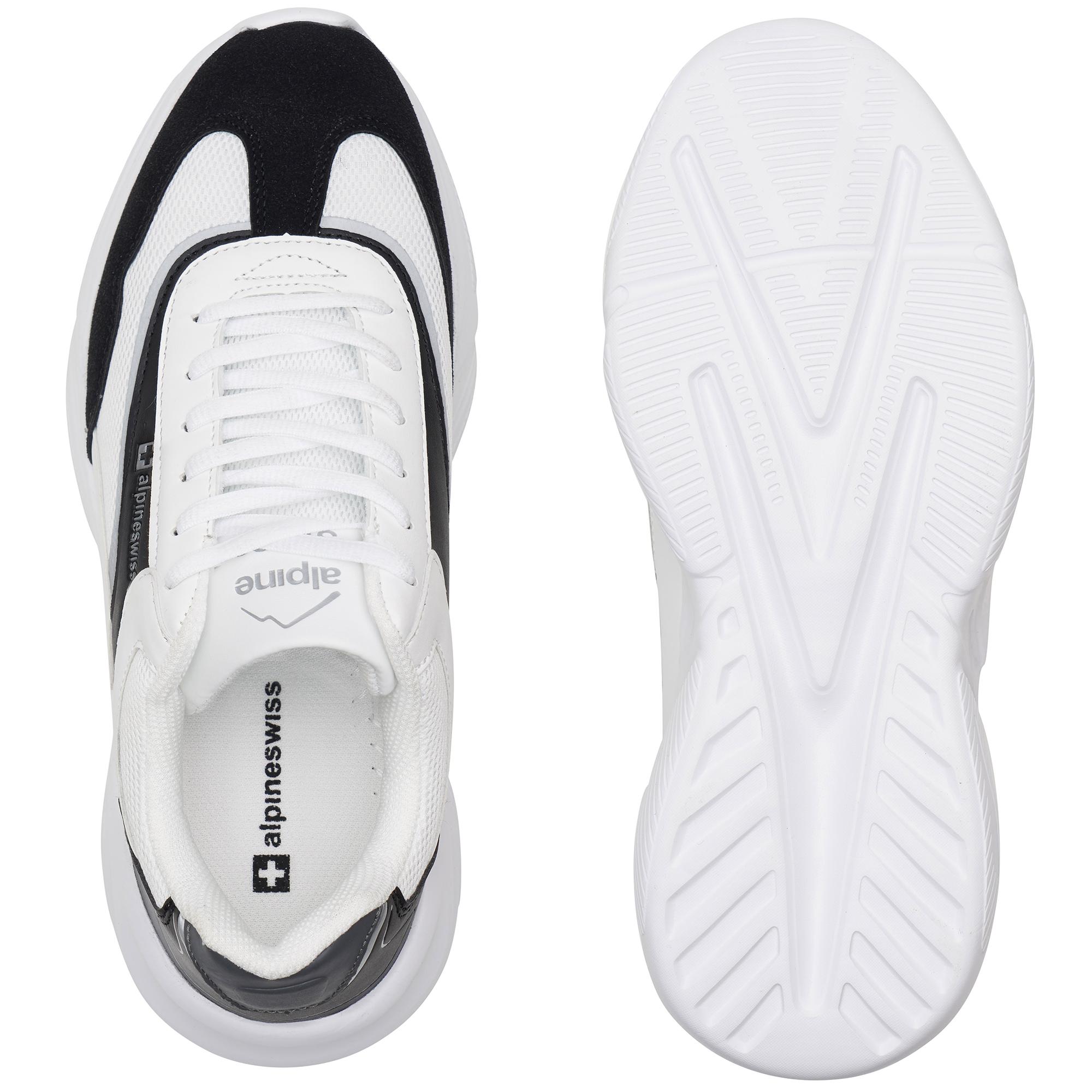 Alpine-Swiss-Stuart-Mens-Chunky-Sneakers-Retro-Platform-Dad-Tennis-Shoes thumbnail 28
