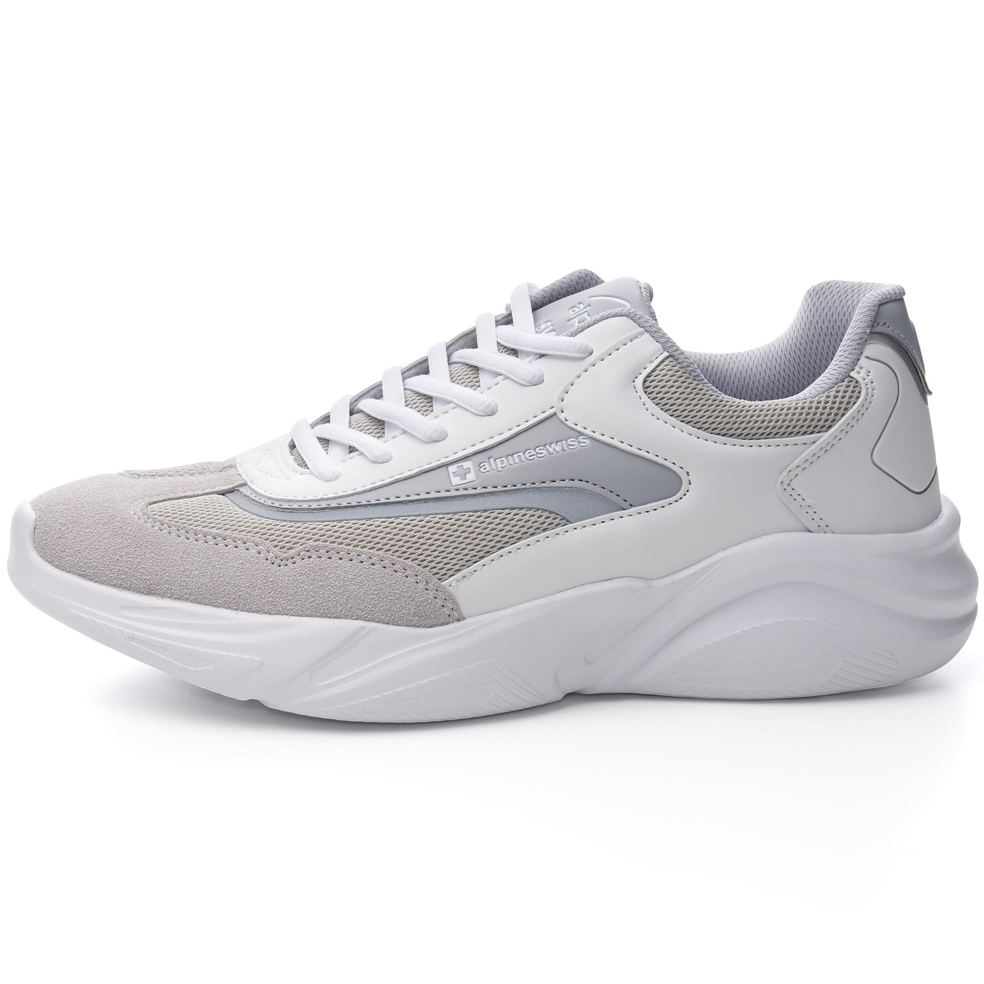 Alpine-Swiss-Stuart-Mens-Chunky-Sneakers-Retro-Platform-Dad-Tennis-Shoes thumbnail 38