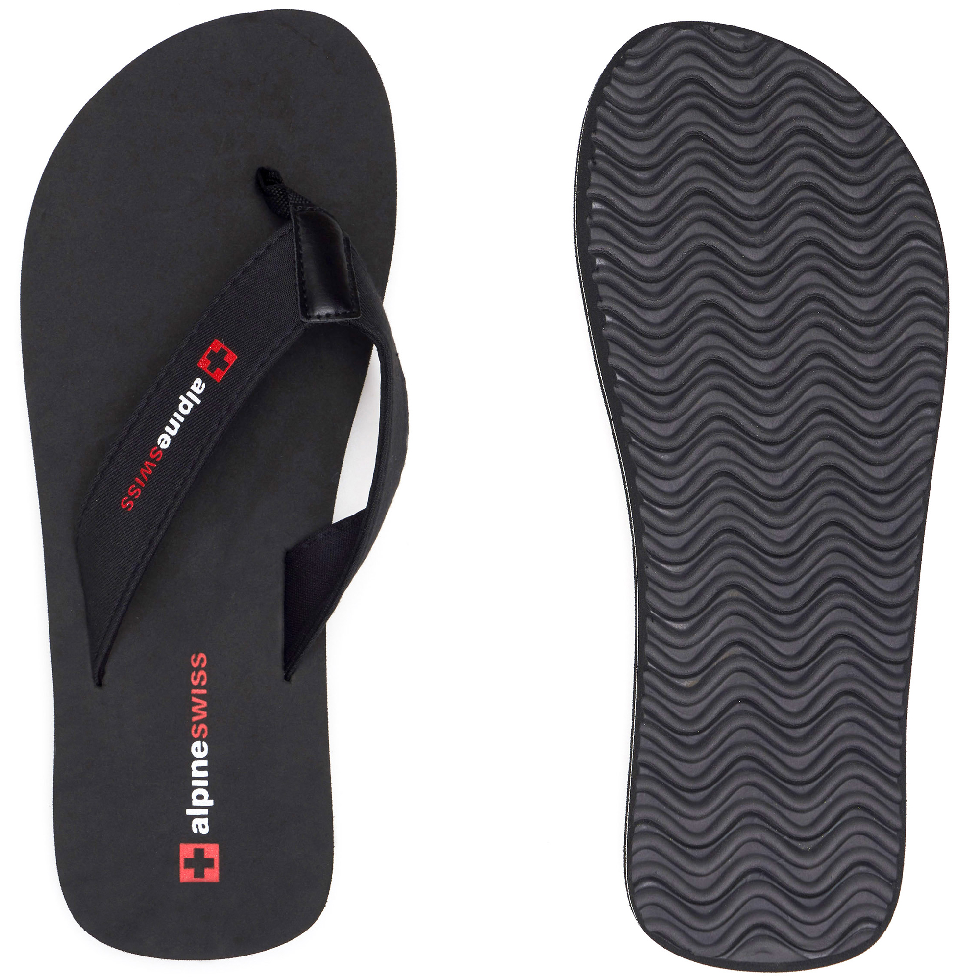 Alpine-Swiss-Mens-Flip-Flops-Beach-Sandals-Lightweight-EVA-Sole-Comfort-Thongs thumbnail 56