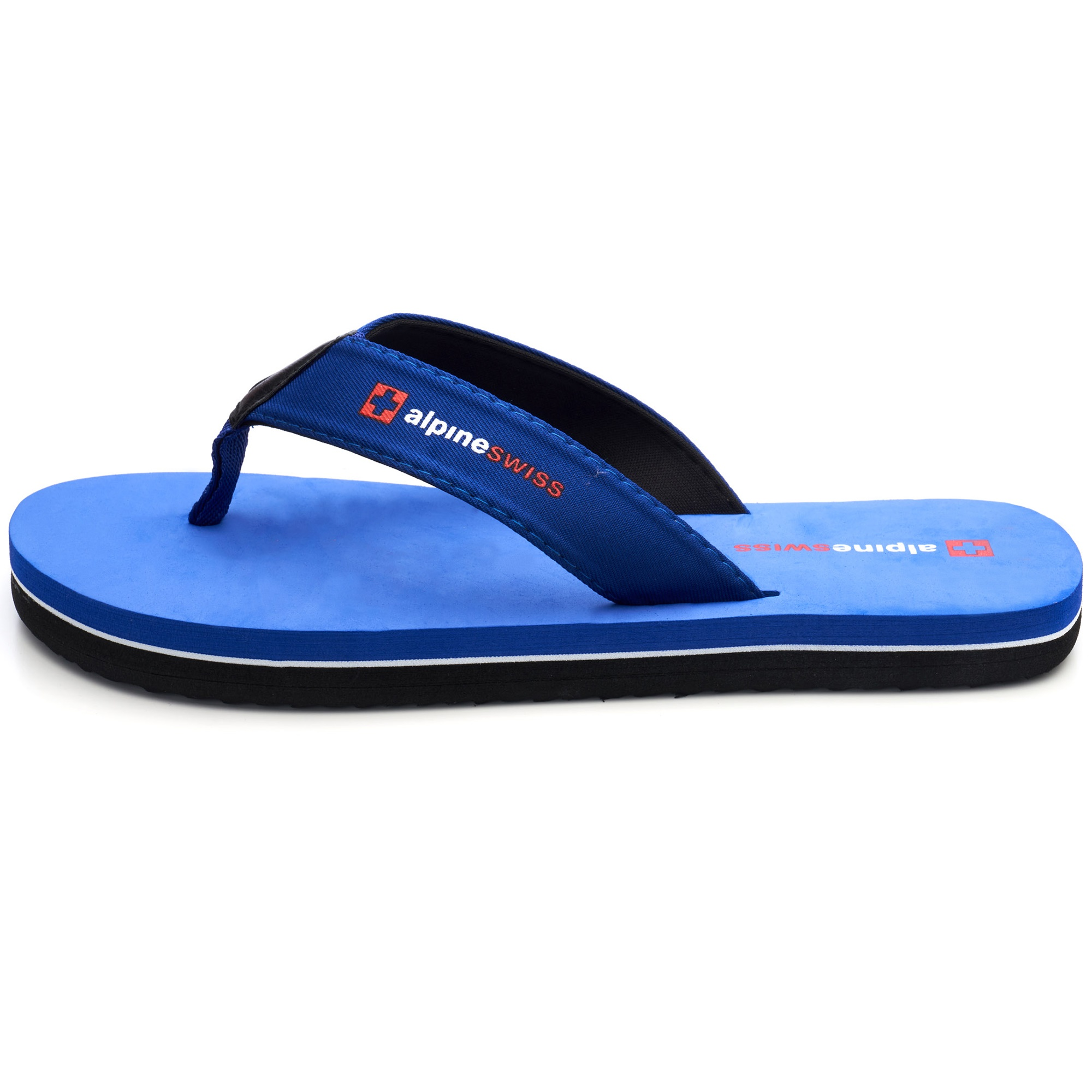 thumbnail 35 - Alpine Swiss Mens Flip Flops Beach Sandals Lightweight EVA Sole Comfort Thongs