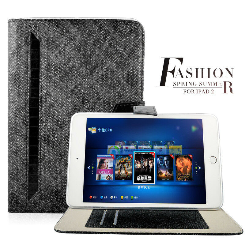 Luxury-360-Rotating-Thin-Case-Magnetic-PU-Leather-Smart-iPad-Cover-For-iPad-Air thumbnail 19