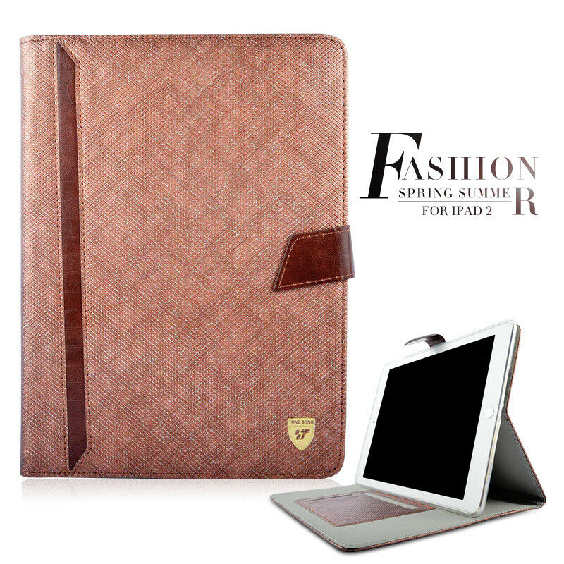 Luxury-360-Rotating-Thin-Case-Magnetic-PU-Leather-Smart-iPad-Cover-For-iPad-Air thumbnail 15