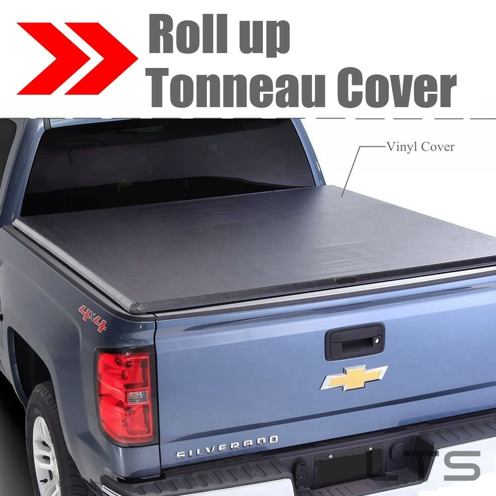 Lock Roll Up Soft Tonneau Cover For 2005 2018 Nissan Frontier 5 FT Short Bed