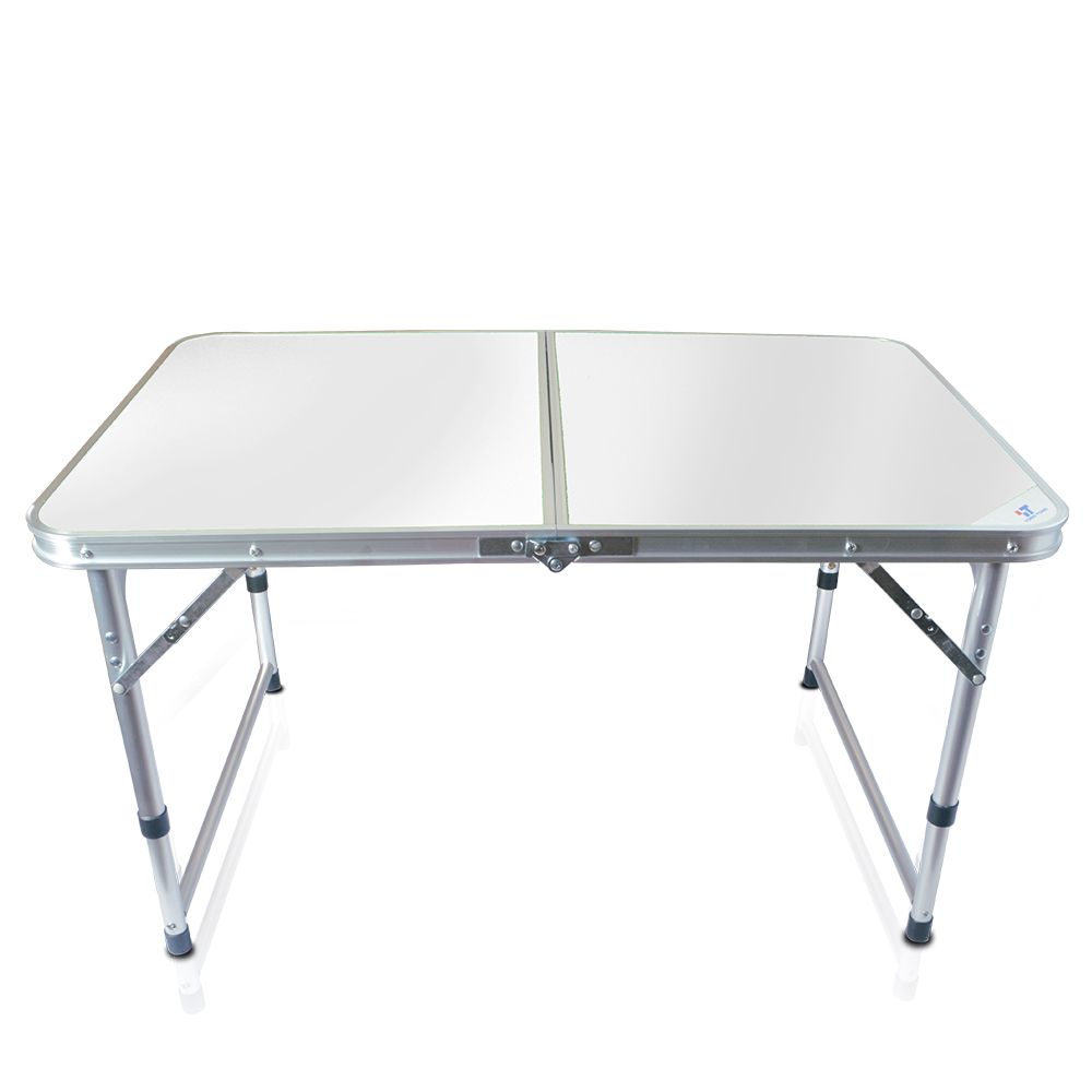 Desk 3FT with Carrying Handle with Carrying Handle BBQ Camping Party Aluminum