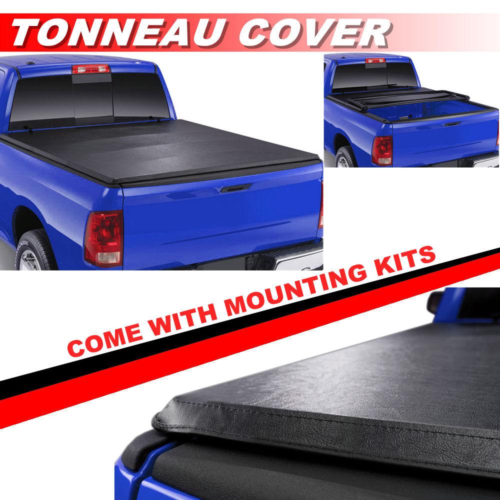 1994 2004 Chevrolet S10 Gmc S15 Lock Soft Tri Fold Tonneau Cover 6ft Short Bed