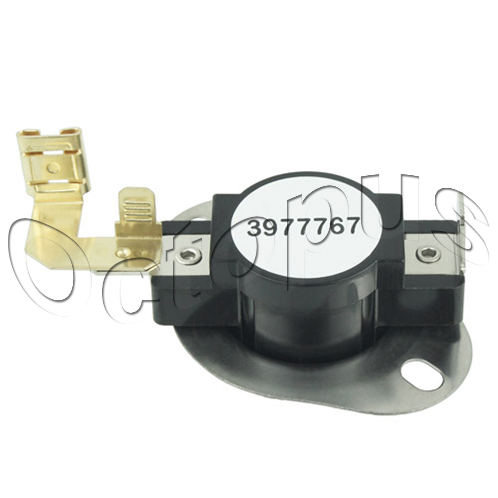 Details about 3977767 Dryer High Limit Thermostat Fits Whirlpool