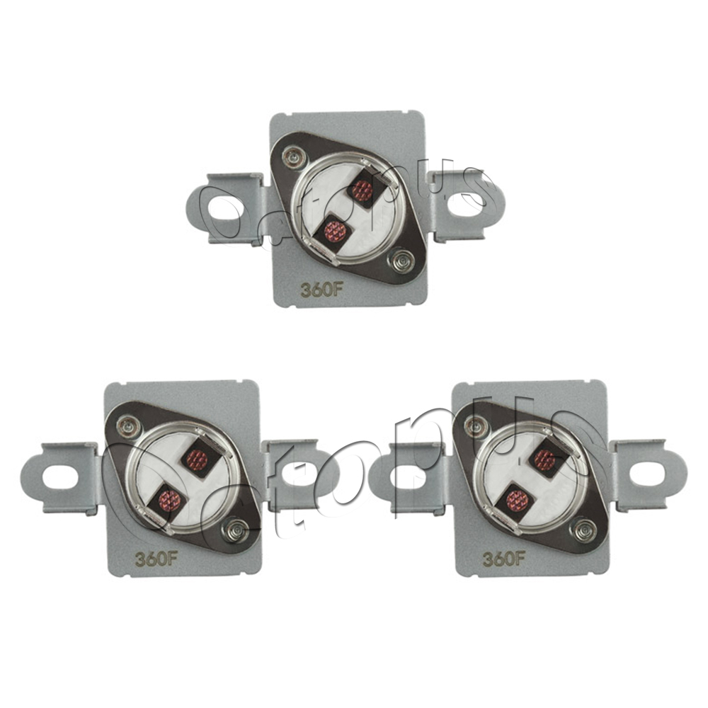 Details about 3 Pack WP40113801 Thermal Fuse 40113801 Fits Whirlpool Maytag  AP6009129