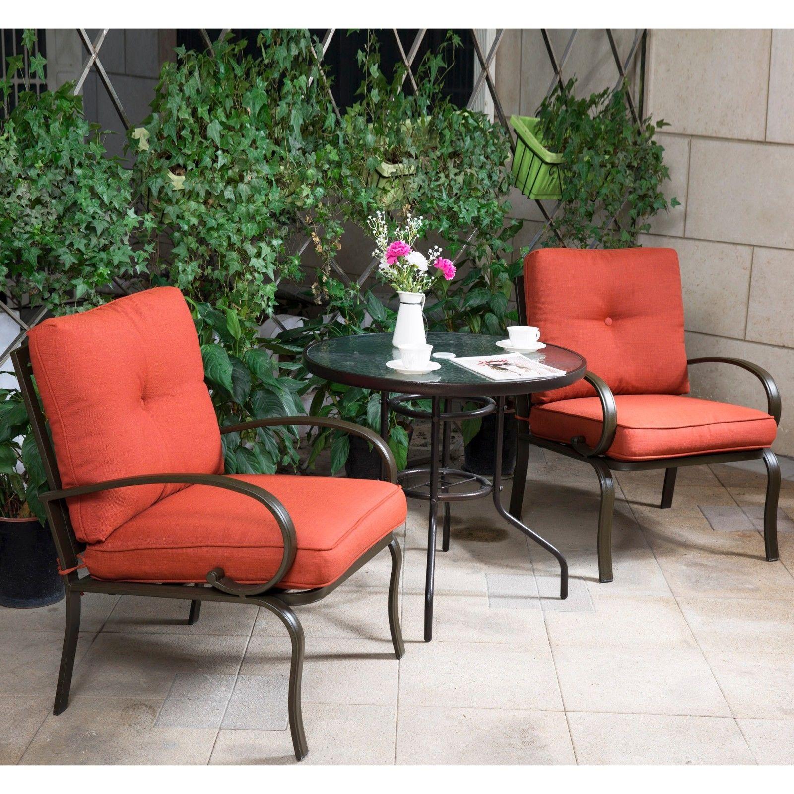 Bistro Set Garden Furniture 3 pc bistro set outdoor garden patio furniture dining set chairs w 3 pc bistro set outdoor garden patio furniture workwithnaturefo