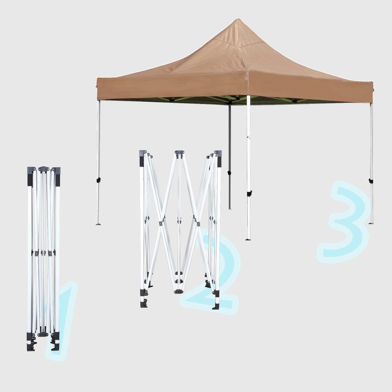 Outdoor-Garden-Gazebo-Portable-Shade-Folding-Canopy-Tent-  sc 1 st  eBay & Outdoor Garden Gazebo Portable Shade Folding Canopy Tent 10 x 10 ...