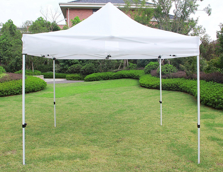 Outdoor-Garden-Gazebo-Portable-Shade-Folding-Canopy-Tent- & Outdoor Garden Gazebo Portable Shade Folding Canopy Tent 10 x 10 ...