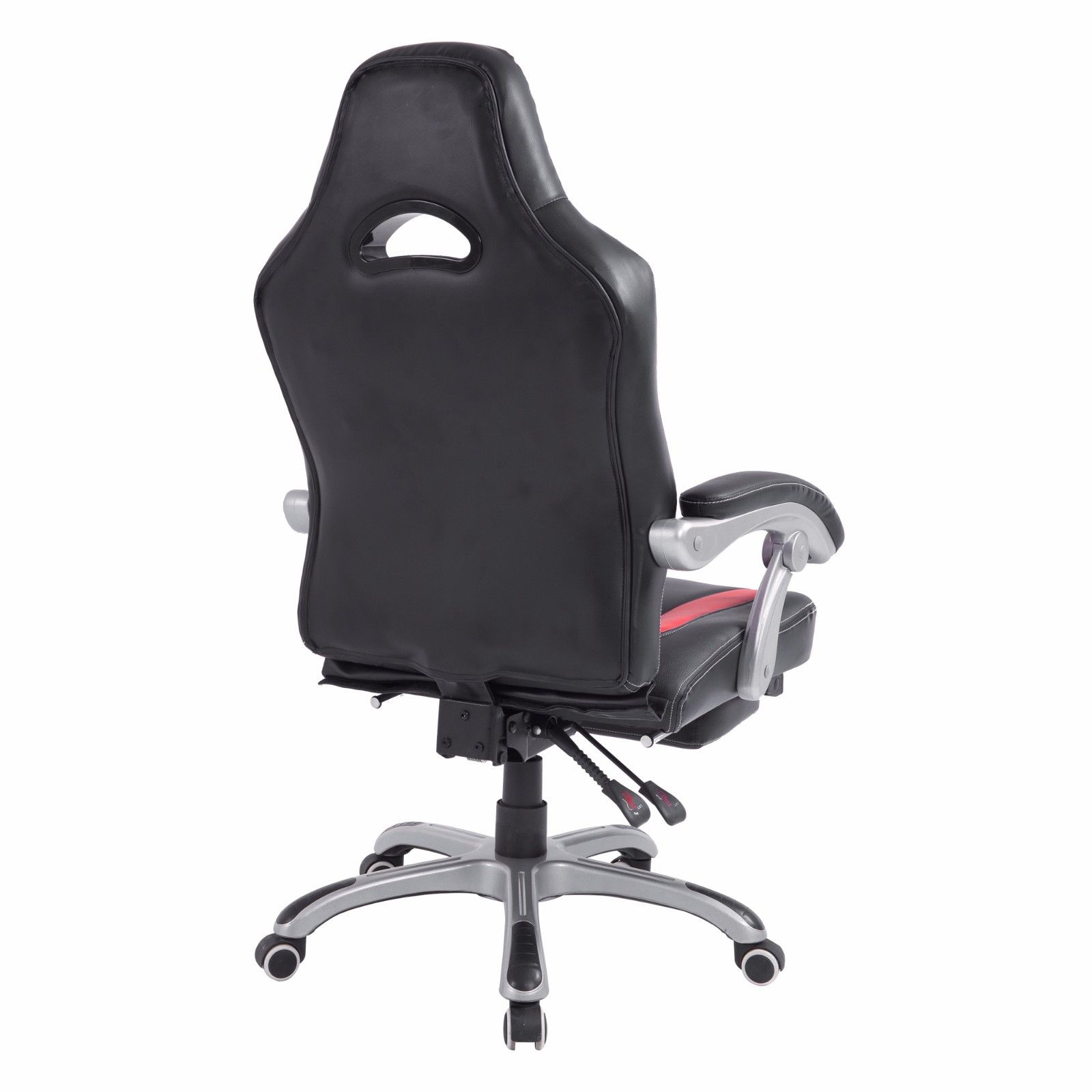 Reclining Office Chair Executive Computer PU Leather Desk