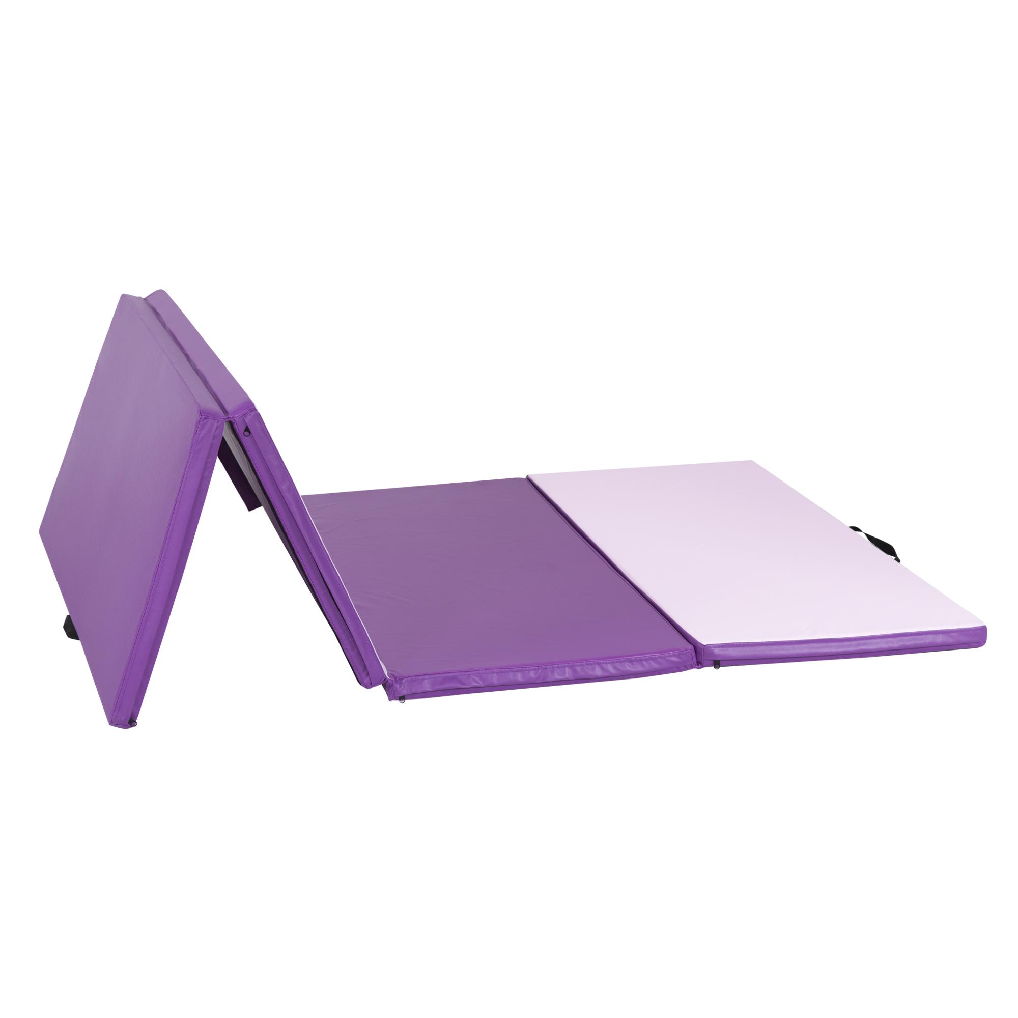 exercise bi products landing gymnastic pad vinyl mat folding product shop fitness bestchoiceproducts mats w best choice rakuten