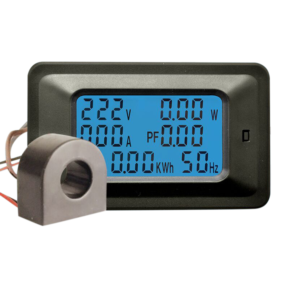 Test Tool Voltmeter Ammeter Multi-function LCD Household Voltage ...