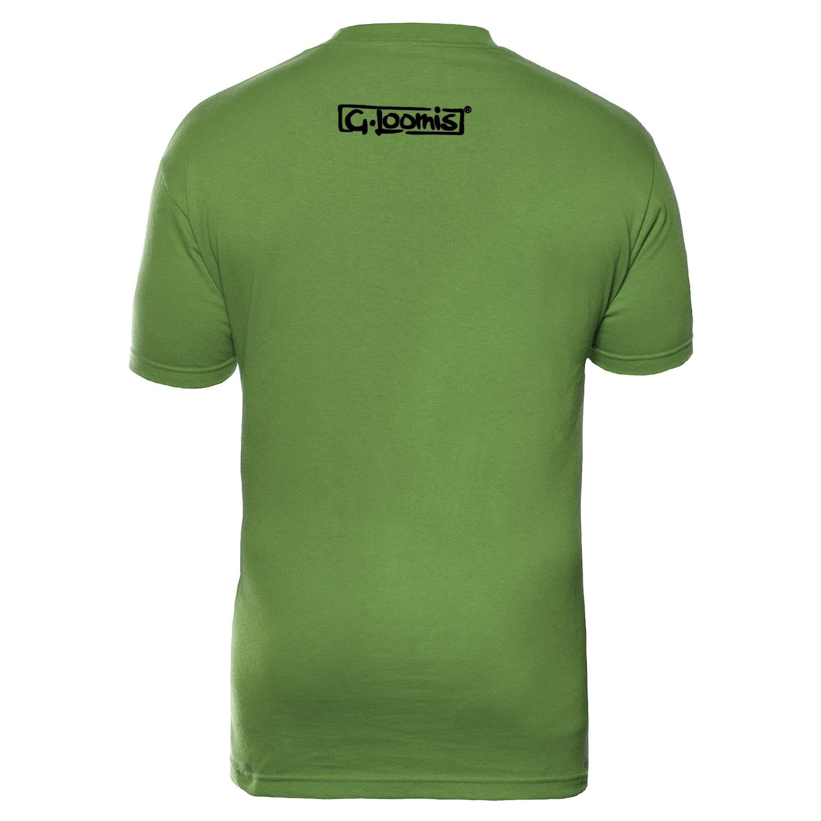 G-Loomis-Skeleton-Fish-Corpo-Short-Sleeve-Fishing-T-Shirt-Select-Size-amp-Color thumbnail 6
