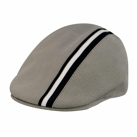 Kangol Polo Stripe 507 K0960FA Men's Grey Ivy Cap