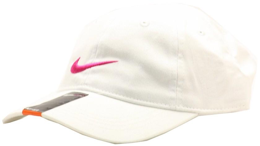 917c30d84ca Nike Girl s Embroidered Swoosh Logo Cotton Baseball Cap Sz 4 6X ...