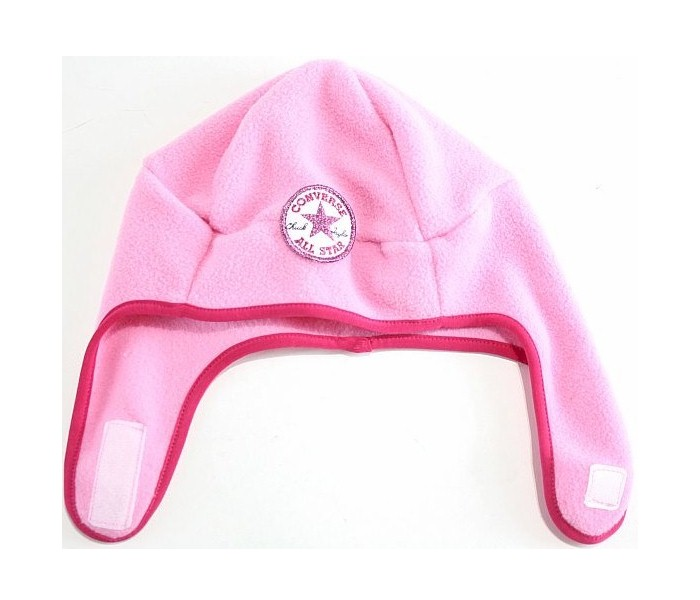 0eb7e0b2df4 Converse All Star Toddler Girl s 2 4T Fleece Trapper Beanie Hat ...