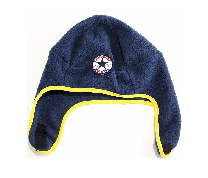 973c4f55e2b Converse All Star Toddler Boy s 2 4T Fleece Trapper Beanie Hat ...
