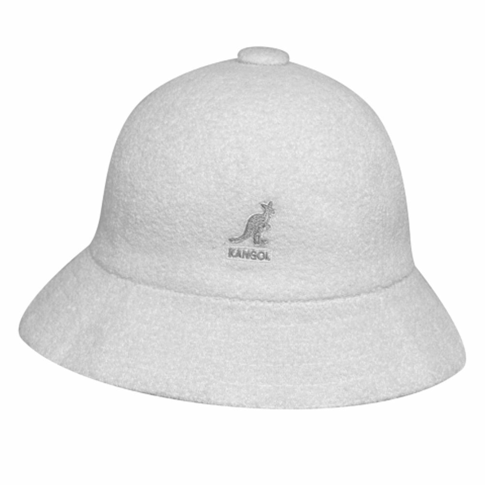 Kangol Men's Bermuda Casual White Bucket Hat | eBay