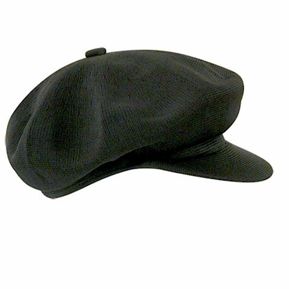 Kangol Men's Tropic Spitfire Flat Cap Black Hat | eBay