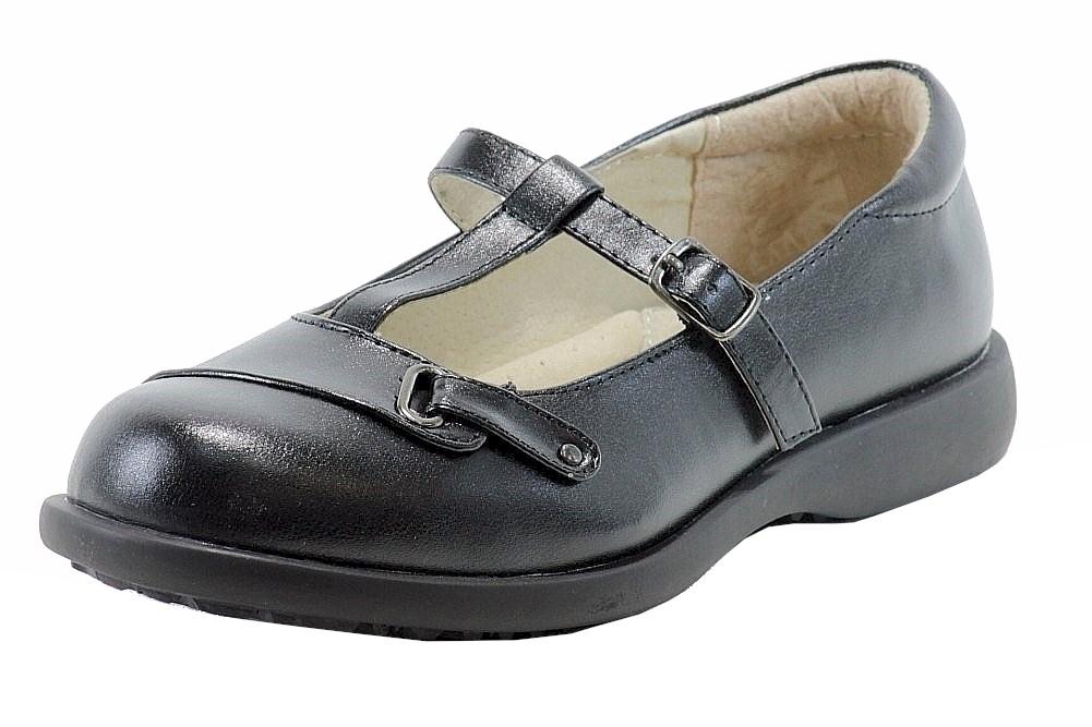 Girl Scout T-Strap School Uniform Shoes