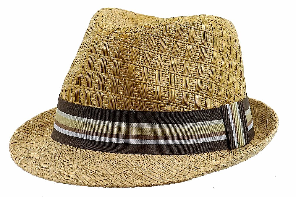 16d2f24f5586a Henschel Men s 3094 Toyo Straw Basket Weave Raffia Fedora Hat