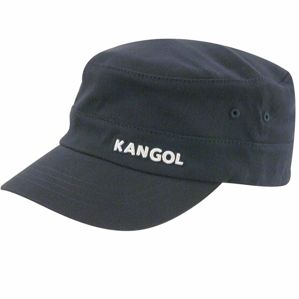 Kangol Men s Cotton Twill Army Cap Navy Hat  20b341d7168b