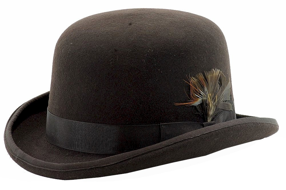 6dc5877559d Scala Classico Men s Chocolate Wool Derby Hat