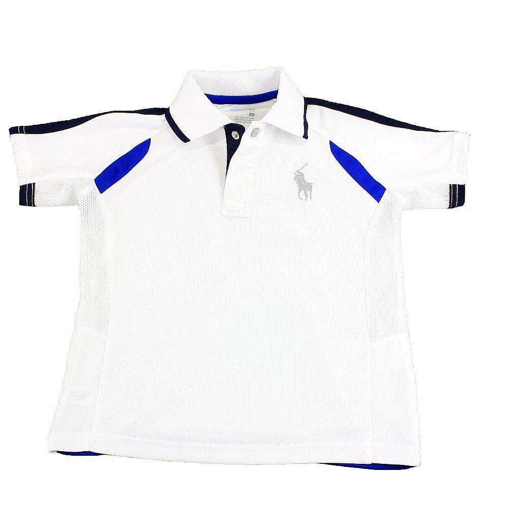 042944c05 Polo Ralph Lauren Boy s Active Soft Touch Pure White Short Sleeve ...