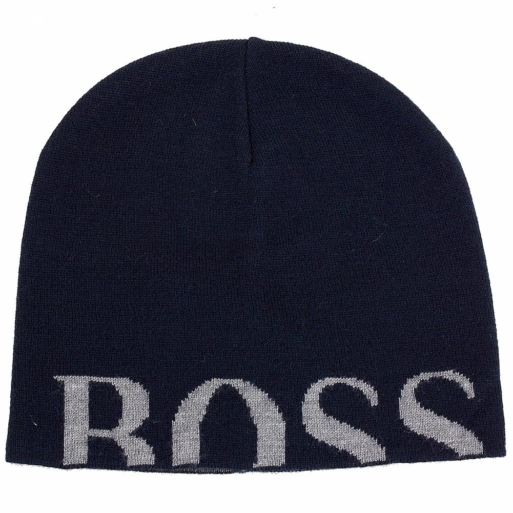 aca16877762da Hugo Boss Men s Knitties Hat Knit Beanie Hat