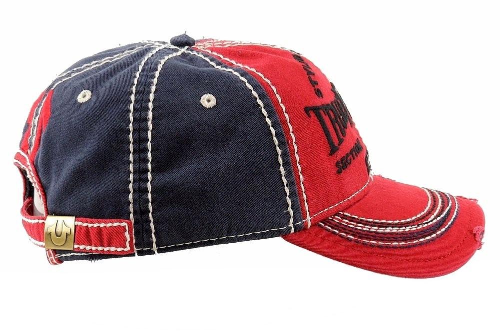 8ede9670d85f9 True Religion Men s Printed Adjustable Cotton Baseball Hat