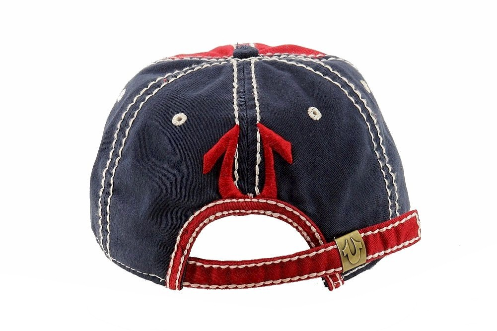 ffadcf8162b True Religion Men s Printed Adjustable Cotton Baseball Hat