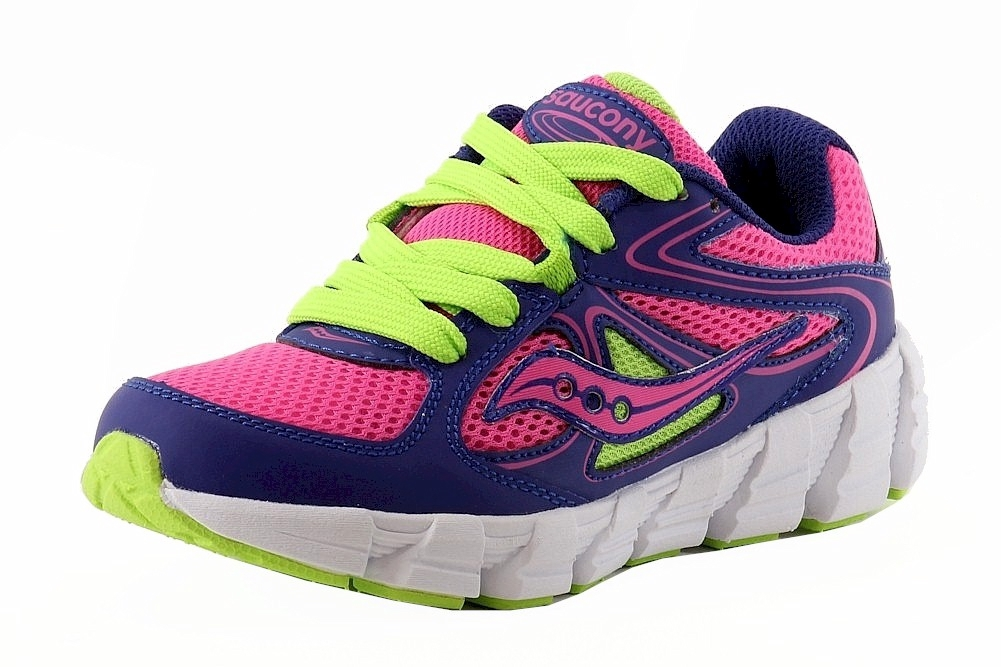 Saucony Girls Ride ISO 2 Performance Lace Up Running Shoes Sneakers BHFO 6851